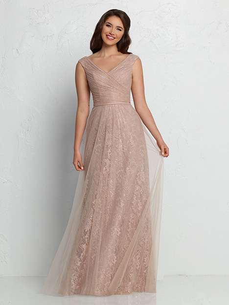 60362 gown from the 2019 DaVinci : Bridesmaids collection, as seen on Bride.Canada