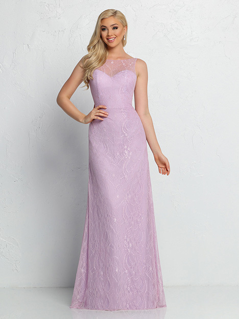 60370 gown from the 2019 DaVinci : Bridesmaids collection, as seen on Bride.Canada