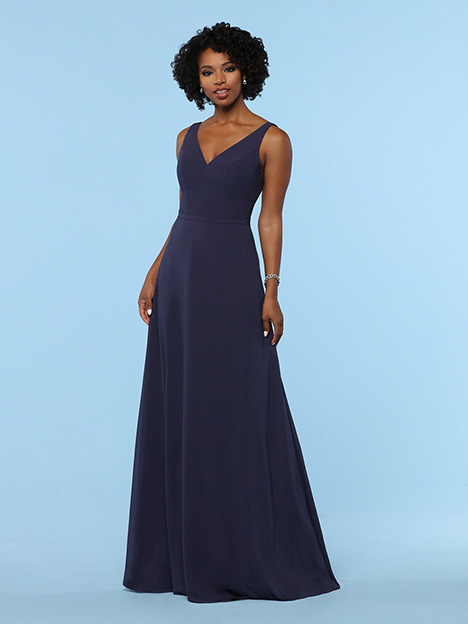 60374 gown from the 2019 DaVinci : Bridesmaids collection, as seen on Bride.Canada