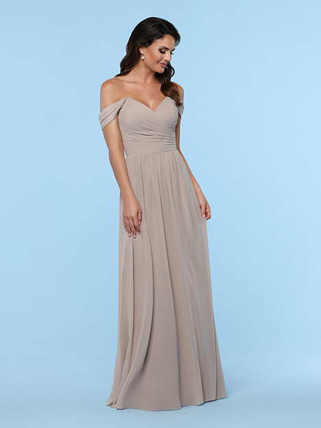 60384 gown from the 2019 DaVinci : Bridesmaids collection, as seen on Bride.Canada