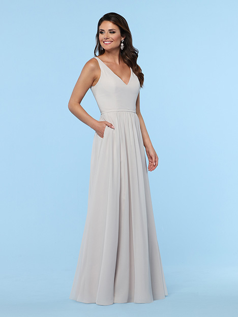 60385 gown from the 2019 DaVinci : Bridesmaids collection, as seen on Bride.Canada