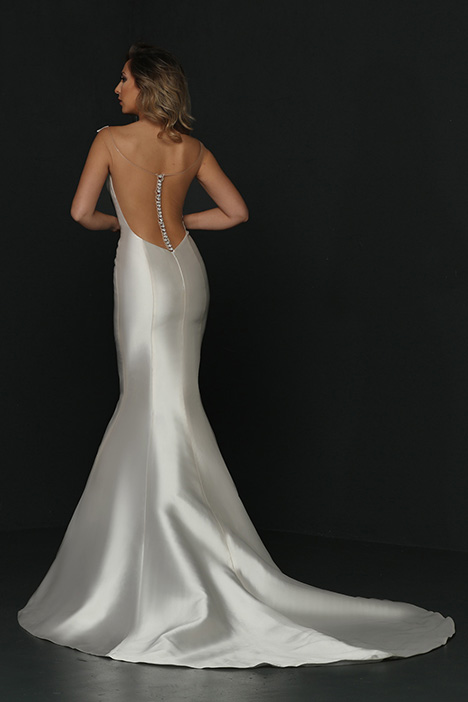 90361 Back gown from the 2019 Simone Carvalli collection, as seen on Bride.Canada