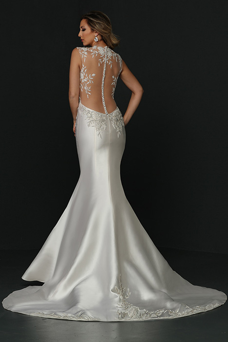 90362 Back gown from the 2019 Simone Carvalli collection, as seen on Bride.Canada