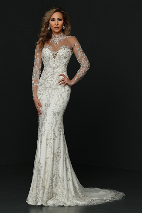90379 gown from the 2019 Simone Carvalli collection, as seen on Bride.Canada