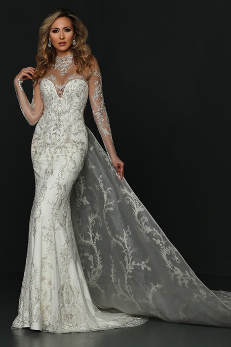 90380 gown from the 2019 Simone Carvalli collection, as seen on Bride.Canada