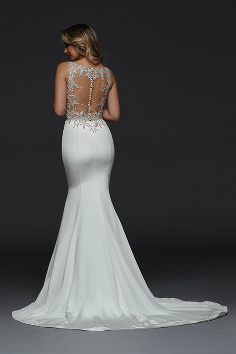90387 Back gown from the 2019 Simone Carvalli collection, as seen on Bride.Canada