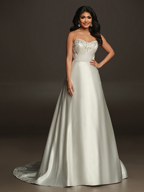 ALLISON gown from the 2019 Victor Harper collection, as seen on Bride.Canada
