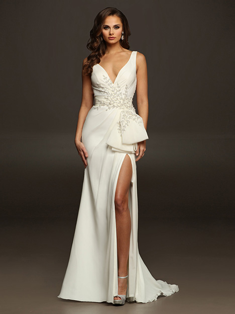 WILDA gown from the 2019 Victor Harper collection, as seen on Bride.Canada