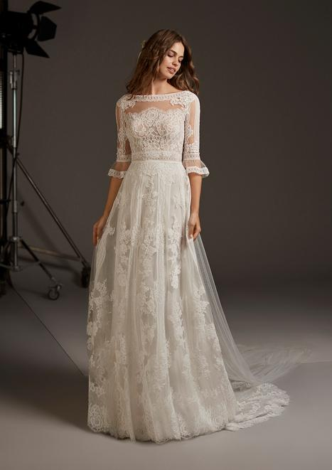 Crux gown from the 2020 Pronovias collection, as seen on Bride.Canada