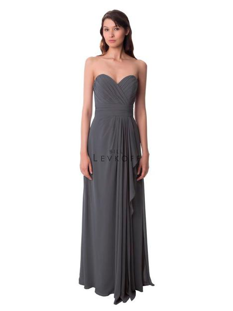 gown from the 2013 Bill Levkoff Bridesmaids collection, as seen on Bride.Canada