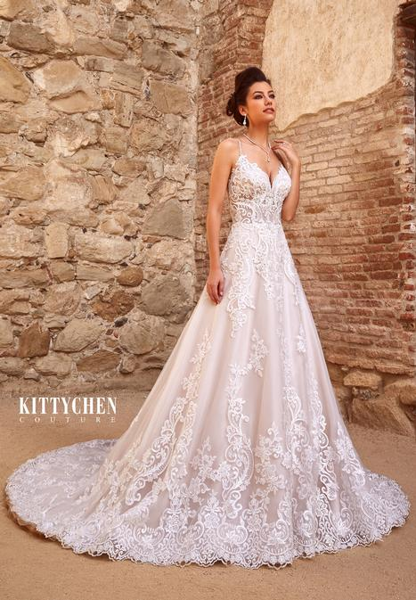 Perla gown from the 2019 KittyChen Couture collection, as seen on Bride.Canada