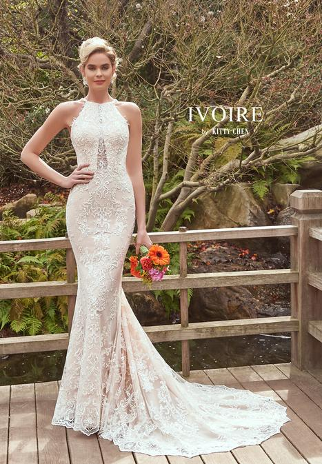 Avery gown from the 2019 Ivoire by Kitty Chen collection, as seen on Bride.Canada
