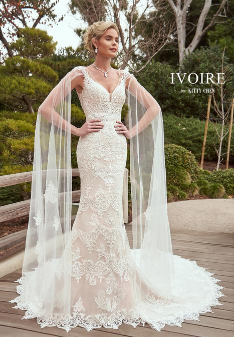 Marika gown from the 2019 Ivoire by Kitty Chen collection, as seen on Bride.Canada