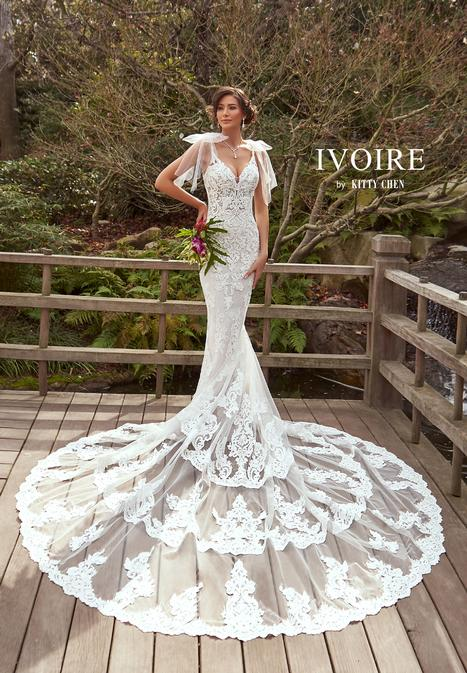 Stephanie gown from the 2019 Ivoire by Kitty Chen collection, as seen on Bride.Canada