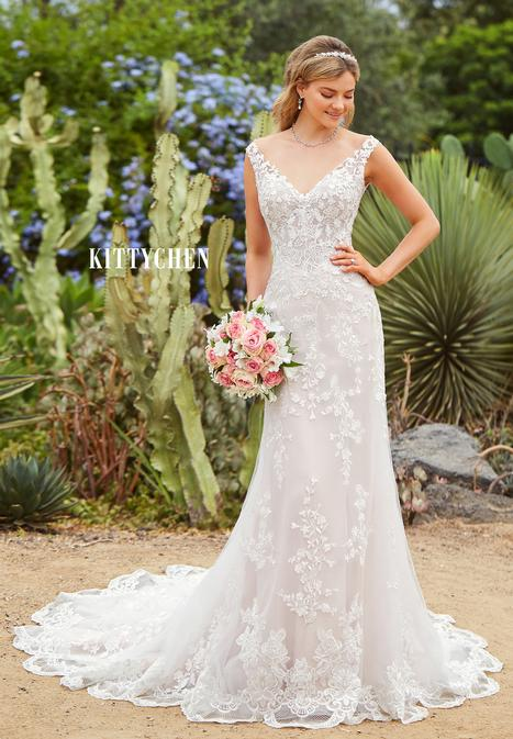 Aldora gown from the 2019 KittyChen collection, as seen on Bride.Canada