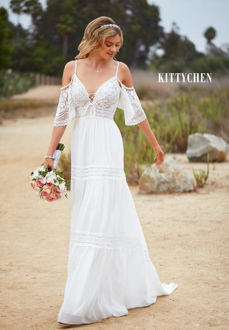 Alma gown from the 2019 KittyChen collection, as seen on Bride.Canada