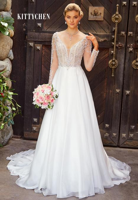 Gracie gown from the 2019 KittyChen collection, as seen on Bride.Canada