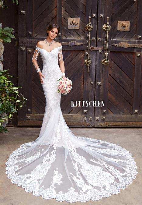 Isadora gown from the 2019 KittyChen collection, as seen on Bride.Canada