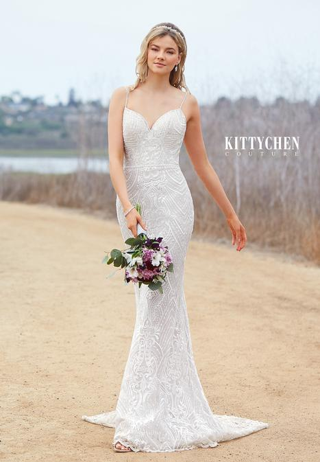 Ivy gown from the 2019 KittyChen collection, as seen on Bride.Canada