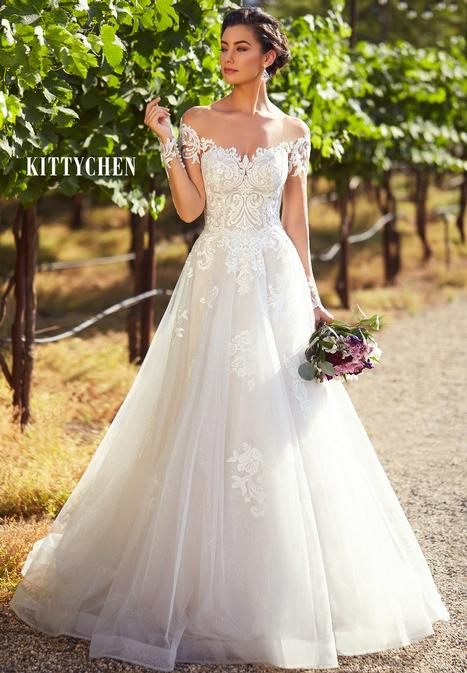 Jessica gown from the 2019 KittyChen collection, as seen on Bride.Canada