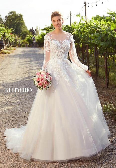 Marisol gown from the 2019 KittyChen collection, as seen on Bride.Canada