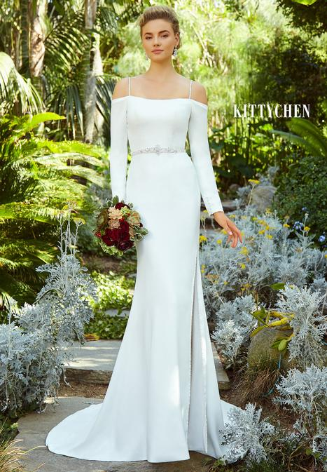 Philomena gown from the 2019 KittyChen collection, as seen on Bride.Canada