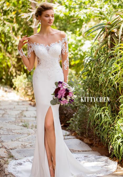 Trenna gown from the 2019 KittyChen collection, as seen on Bride.Canada