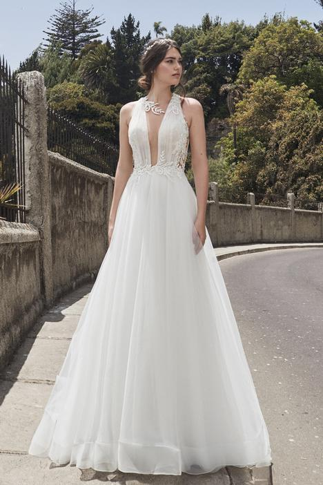Dominique gown from the 2019 L'Amour by Calla Blanche collection, as seen on Bride.Canada