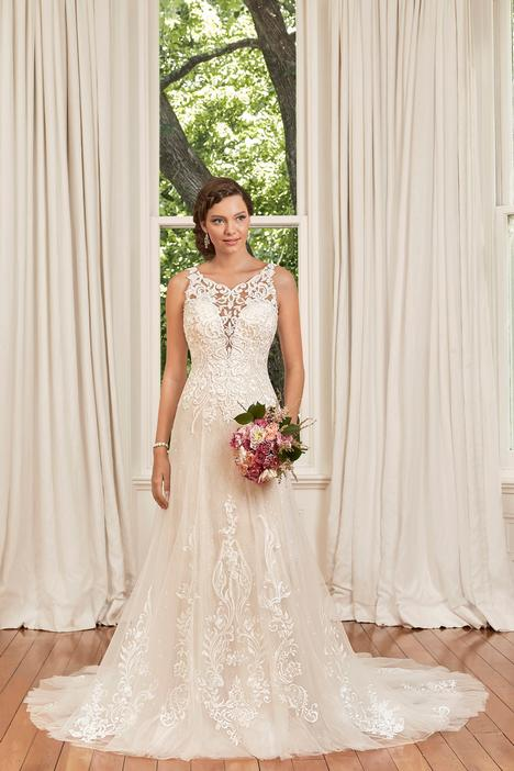 Georgia gown from the 2019 Sophia Tolli collection, as seen on Bride.Canada
