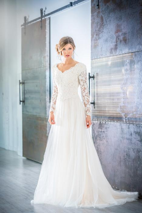 gown from the 2019 Modest by Mon Cheri collection, as seen on Bride.Canada