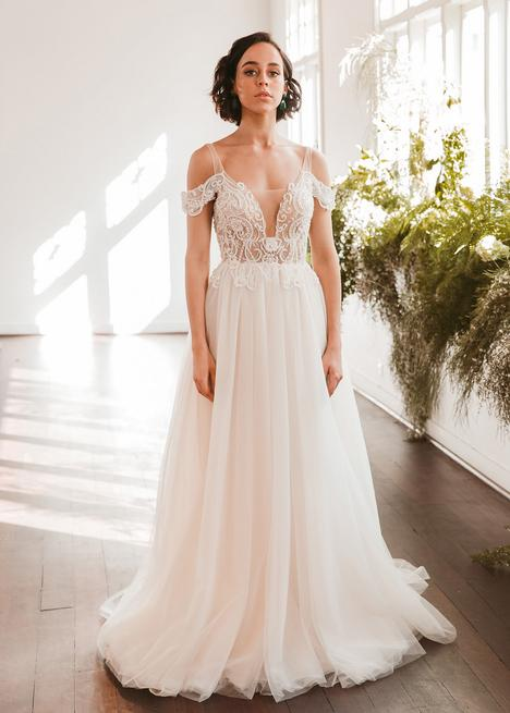 gown from the 2020 Wedding Societe collection, as seen on Bride.Canada