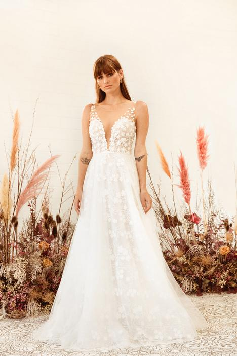 gown from the 2020 White April collection, as seen on Bride.Canada