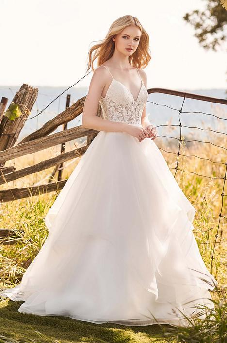 gown from the 2020 Mikaella collection, as seen on Bride.Canada