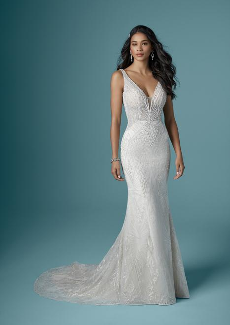 Elaine gown from the 2020 Maggie Sottero collection, as seen on Bride.Canada