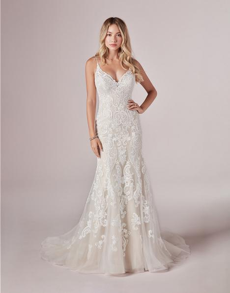 Adelaide gown from the 2020 Rebecca Ingram collection, as seen on Bride.Canada