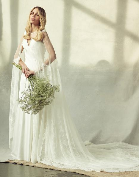 Frances gown from the 2020 Savannah Miller Bridal collection, as seen on Bride.Canada