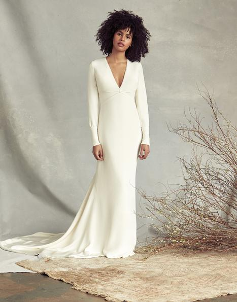 Mathilde gown from the 2020 Savannah Miller Bridal collection, as seen on Bride.Canada