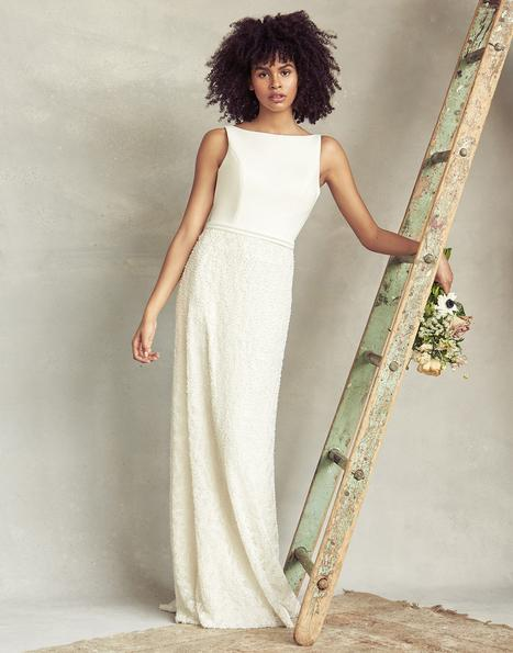 Justine gown from the 2020 Savannah Miller Bridal collection, as seen on Bride.Canada
