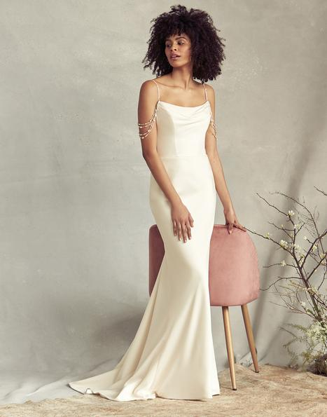 Lottie gown from the 2020 Savannah Miller Bridal collection, as seen on Bride.Canada