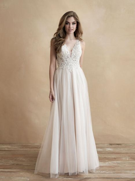 gown from the 2020 Allure Romance collection, as seen on Bride.Canada