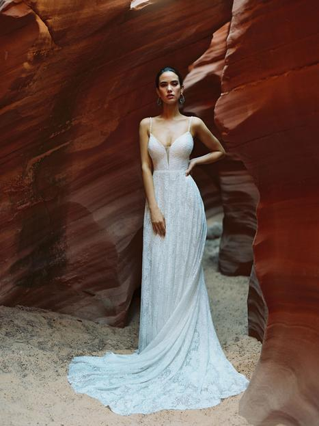 Clara gown from the 2020 Wilderly Bride collection, as seen on Bride.Canada