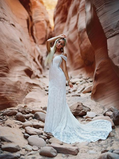 Maisie gown from the 2020 Wilderly Bride collection, as seen on Bride.Canada