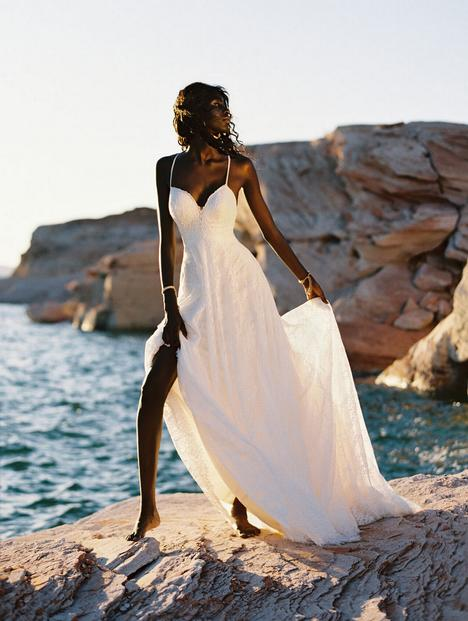 Sybil gown from the 2020 Wilderly Bride collection, as seen on Bride.Canada