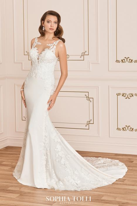 gown from the 2020 Sophia Tolli collection, as seen on Bride.Canada