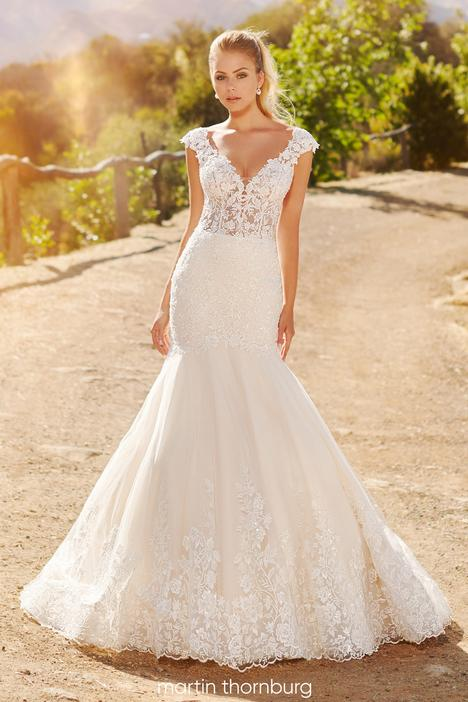 gown from the 2020 Martin Thornburg for Mon Cheri collection, as seen on Bride.Canada
