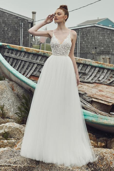 Elsa gown from the 2020 L'Amour by Calla Blanche collection, as seen on Bride.Canada