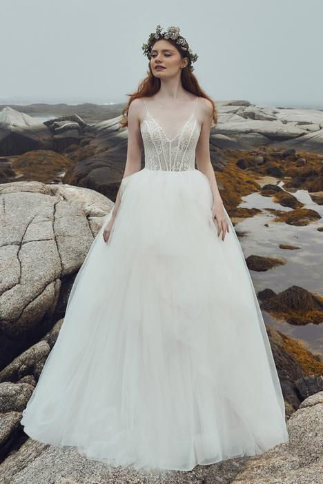 Kianna gown from the 2020 L'Amour by Calla Blanche collection, as seen on Bride.Canada