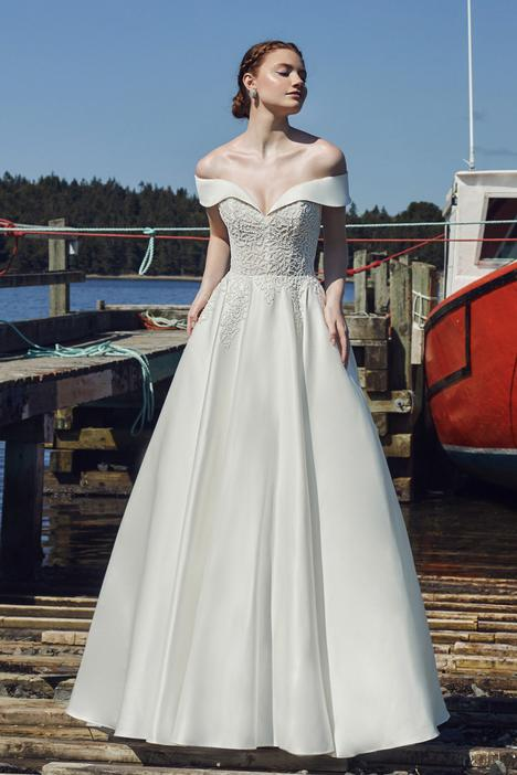 Tallulah gown from the 2020 L'Amour by Calla Blanche collection, as seen on Bride.Canada