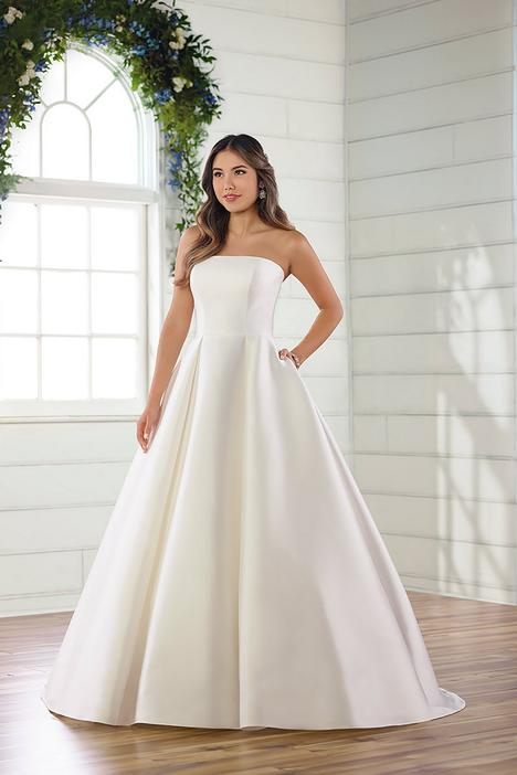 gown from the 2019 Essense of Australia collection, as seen on Bride.Canada