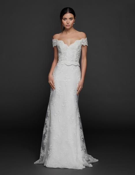 Nina gown from the 2019 Tara Keely by Lazaro collection, as seen on Bride.Canada